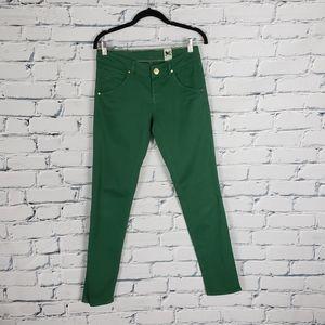 M Missoni Denim Green Skinny Jeans